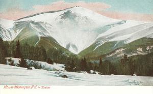 Winter, Mt. Washington, White Mountains, New Hampshire