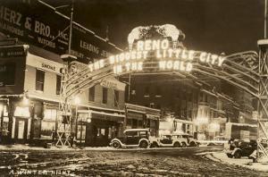 Winter Night in Reno, Nevada