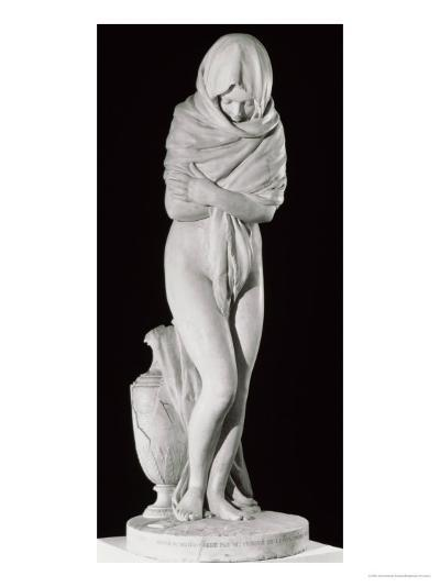 Winter, or the Chilly Woman-Jean-Antoine Houdon-Giclee Print