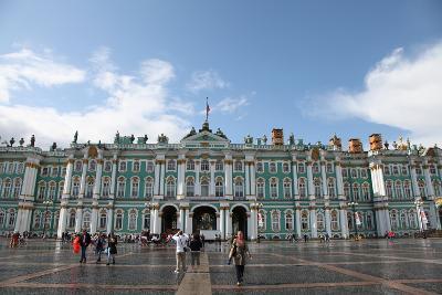 Winter Palace, Hermitage Museum, St Petersburg, Russia, 2011-Sheldon Marshall-Photographic Print