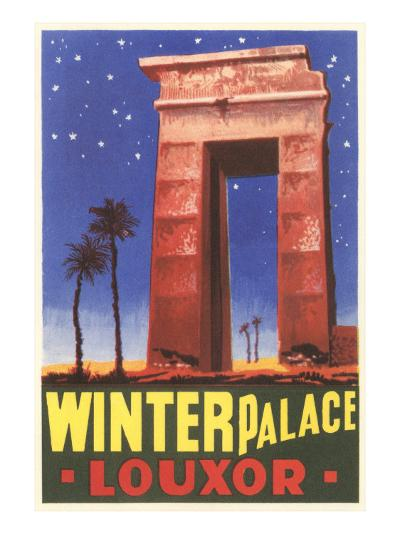 Winter Palace, Luxor, Egypt--Art Print