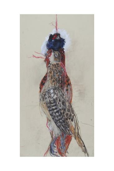 Winter Pheasant, 2007-Lara Scouller-Giclee Print