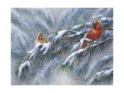 Winter Reds-Wanda Mumm-Giclee Print