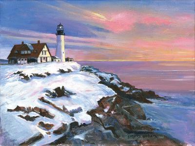 Winter's Light-Gregory Gorham-Art Print