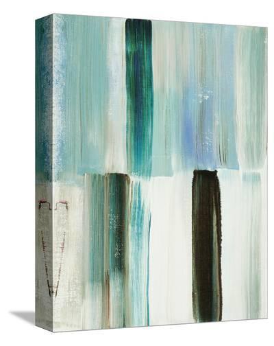 Winter's Window No. 1-Joan Davis-Stretched Canvas Print