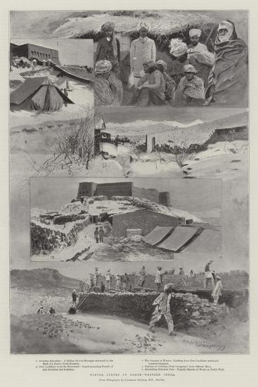 Winter Scenes in North-Western India-Henry Charles Seppings Wright-Giclee Print