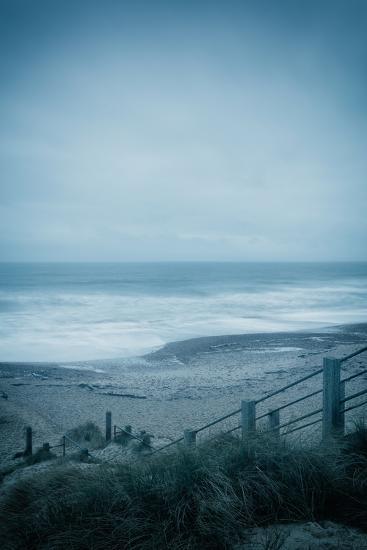 Winter Seascape-David Baker-Photographic Print