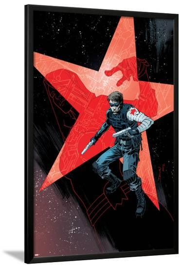 Winter Soldier #17 Cover: Winter Soldier-Declan Shalvey-Lamina Framed Poster