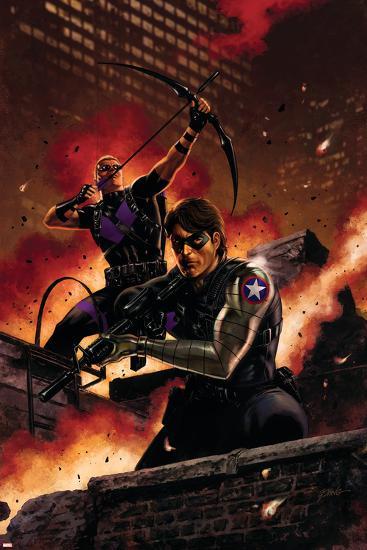 Winter Soldier No. 11: Winter Soldier, Hawkeye--Art Print