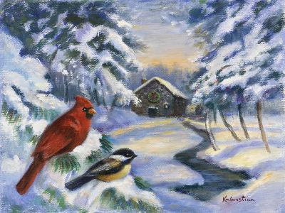 Winter Song-Rosanne Kaloustian-Giclee Print