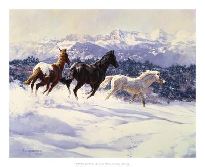 Winter Spirits-Claire Goldrick-Art Print