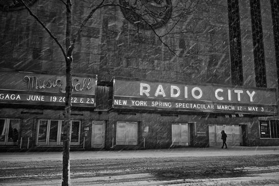 Winter Storm Juno Arrives in New York City-Kike Calvo-Photographic Print