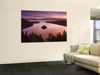 Winter Sunrise at Emerald Bay, Lake Tahoe-Witold Skrypczak-Giant Art Print
