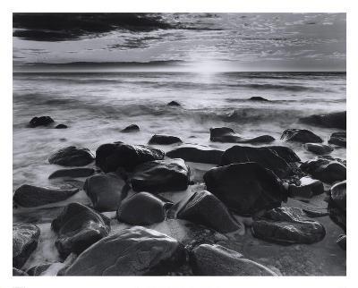 Winter Sunrise Montauk Coast #2-Richard Nowicki-Art Print