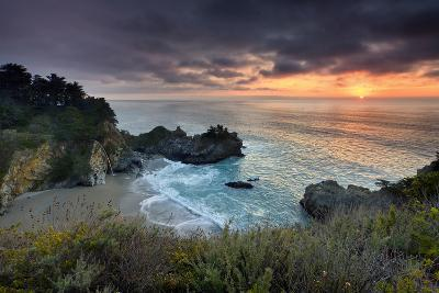 Winter Sunset Mcway Cove-Don Smith-Photographic Print