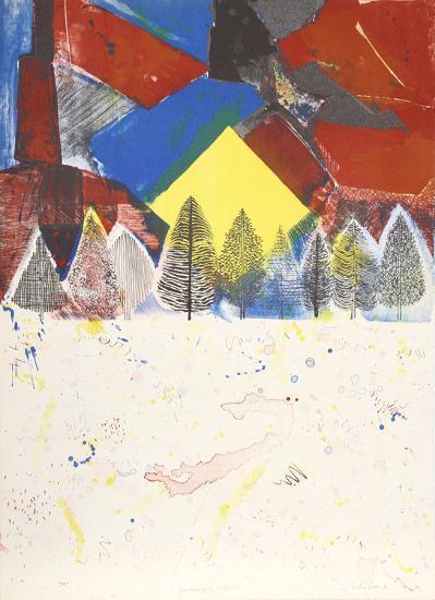Winter Sunset-Arthur Secunda-Limited Edition