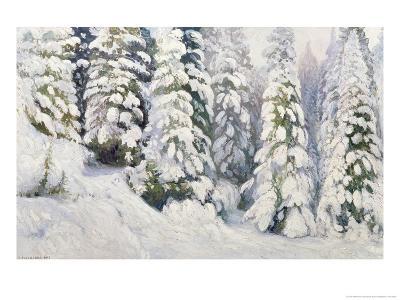 Winter Tale, 1913-Aleksandr Alekseevich Borisov-Giclee Print