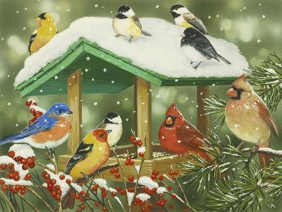 Winter Treats-William Vanderdasson-Giclee Print
