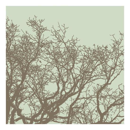 Winter Tree II-Erin Clark-Art Print