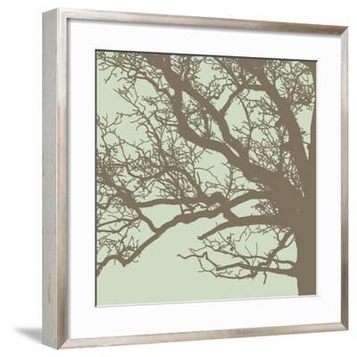 Winter Tree III-Erin Clark-Framed Art Print
