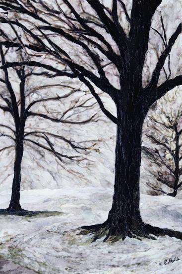 Winter Trees, Greenwich Park, 2004-Ellen Golla-Giclee Print