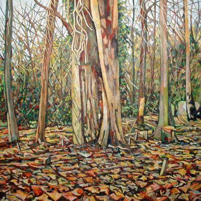 Winter Trunk, 2010-Noel Paine-Giclee Print