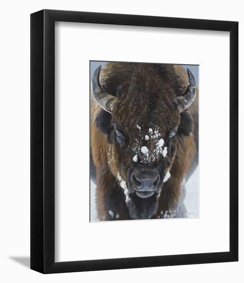 Winter Warrior-Terry Isaac-Framed Art Print