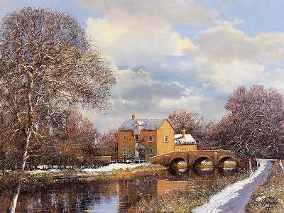 Winter Water-Clive Madgwick-Giclee Print
