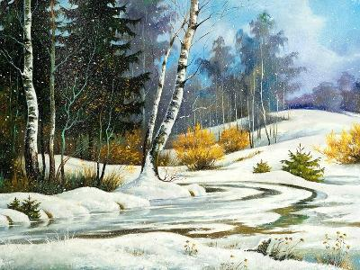 Winter Wood-balaikin2009-Art Print