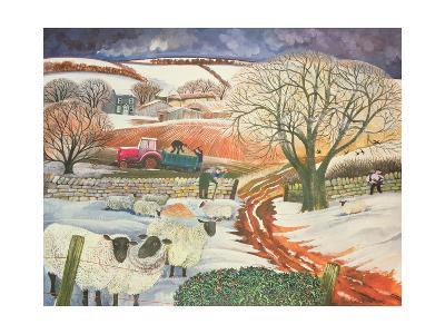 Winter Woolies-Lisa Graa Jensen-Giclee Print