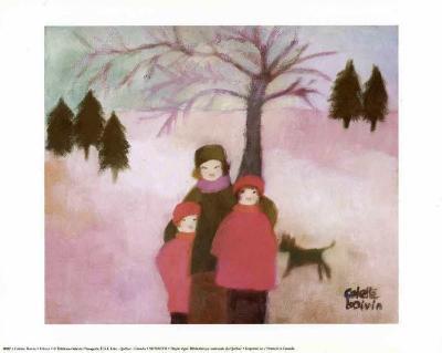Winter-Colette Boivin-Art Print