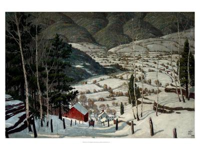 Winter-Walter King Stone-Art Print
