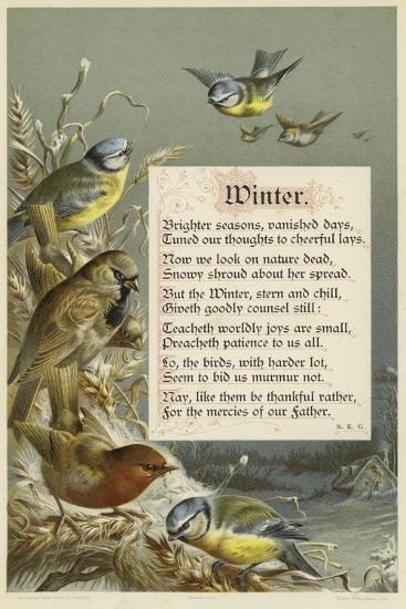 Winter--Giclee Print