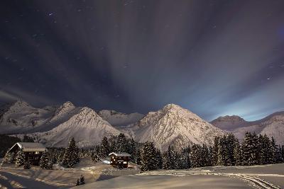 Winterevening in the Mountains-Ralf Eisenhut-Photographic Print