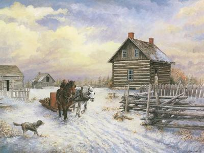 Wintertime-Kevin Dodds-Giclee Print