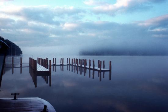 Wintery Derwentwater-Charles Bowman-Photographic Print