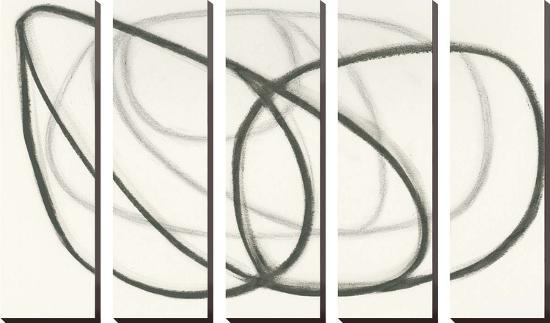 Wire Shadow III-Maria Lobo-Canvas Set