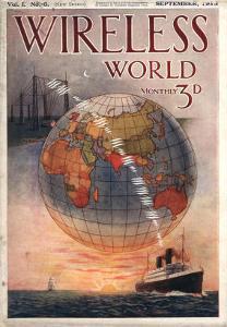Wireless world, Radios Magazine, UK, 1916