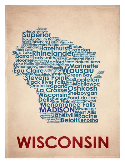 Wisconsin--Art Print