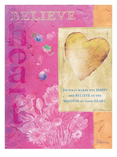 Wisdom of Your Heart-Flavia Weedn-Giclee Print