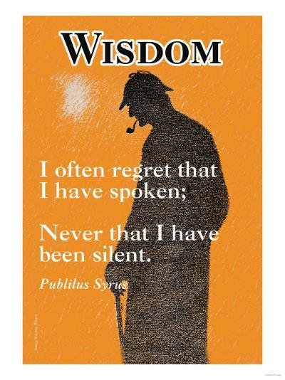Wisdom--Art Print
