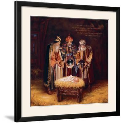 Wise Men Still Seek Him - Prince of Peace-Mark Missman-Framed Photographic Print