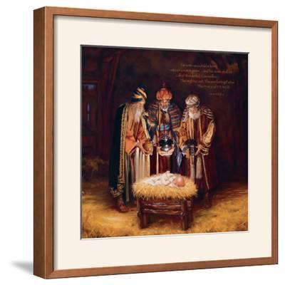 Wise Men Still Seek Him - Prince of Peace-Mark Missman-Framed Photographic Print