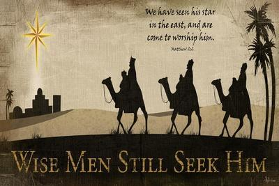 Wise Men Still Seek Him-Jennifer Pugh-Art Print