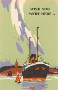 Wish You Were Here, Art Deco Ocean Liner