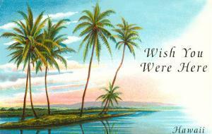 Wish You Were Here, Hawaii, Palm Atoll