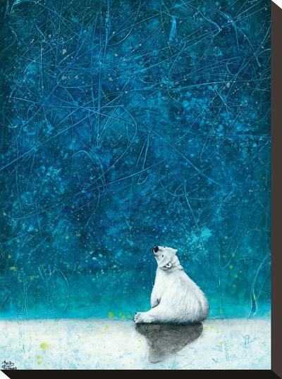 Wishing on Stars-Britt Hallowell-Stretched Canvas Print