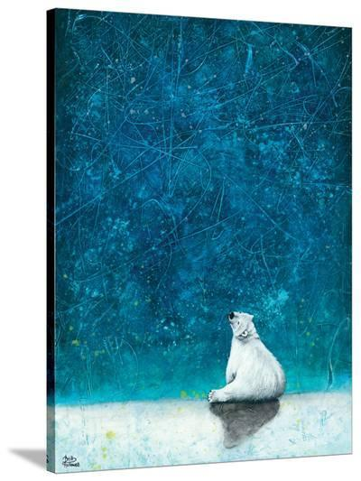 Wishing on Stars-Britt Hallowell-Stretched Canvas Print