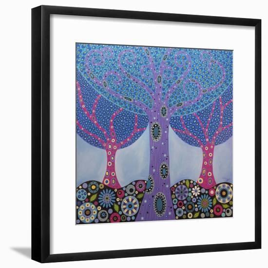 Wishing Trees-Lynn Hughes-Framed Giclee Print
