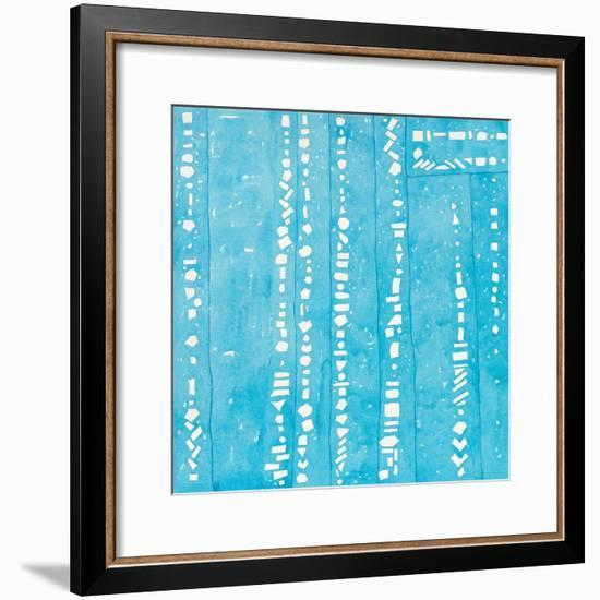 Wishy Washy Blues II-Shirley Novak-Framed Art Print